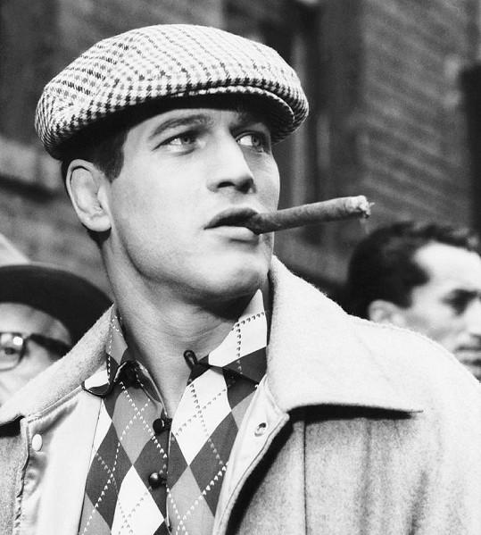 Paul Newman byl velký fešák. Proslavil se filmem Někdo tam nahoře tě má rád (1956).