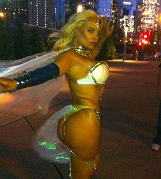 Manželka rappera Ice-T jako komiksová kráska.