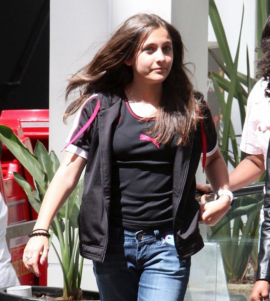 Dcera Michaela Jacksona Paris.