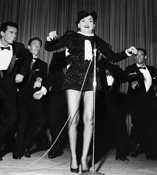 V šedesátých letech Judy Garland živily především koncerty.