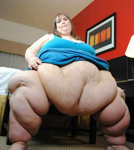 Susanne Eman váží něco kolem 330 kilogramů.