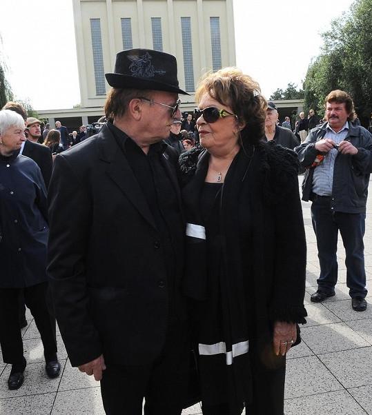 Jiřina Bohdalová a Petr Janda