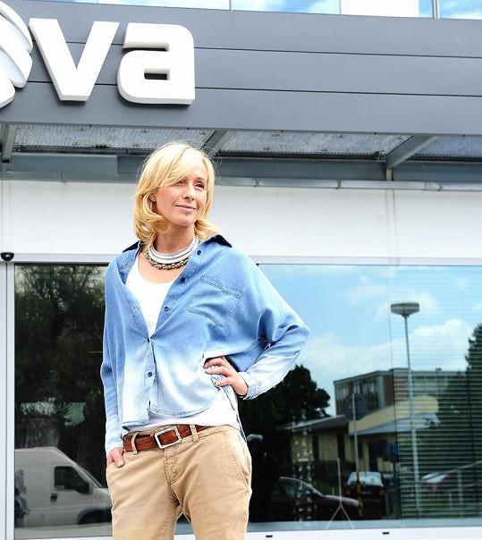 Tereza se po letech vrátila na Novu, kde začínala v hudebním pořadu pro mládež.
