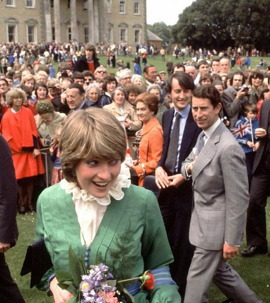 Nesmělá Diana učarovala nejen princi Charlesovi.