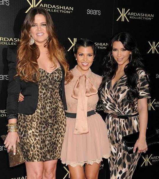 Sestry Kardashianovy.