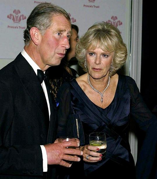 Princ Charles a Camilla v roce 2003.