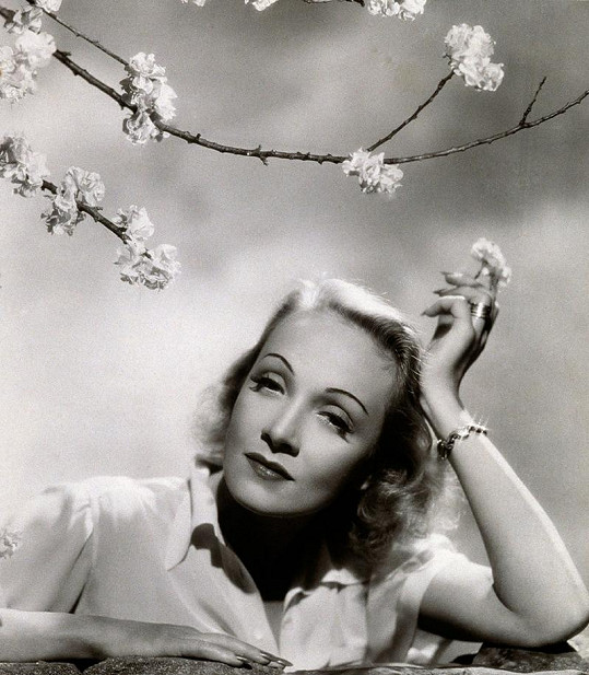 Marlene na jednom z portrétů. Píší se léta čtyřicátá.