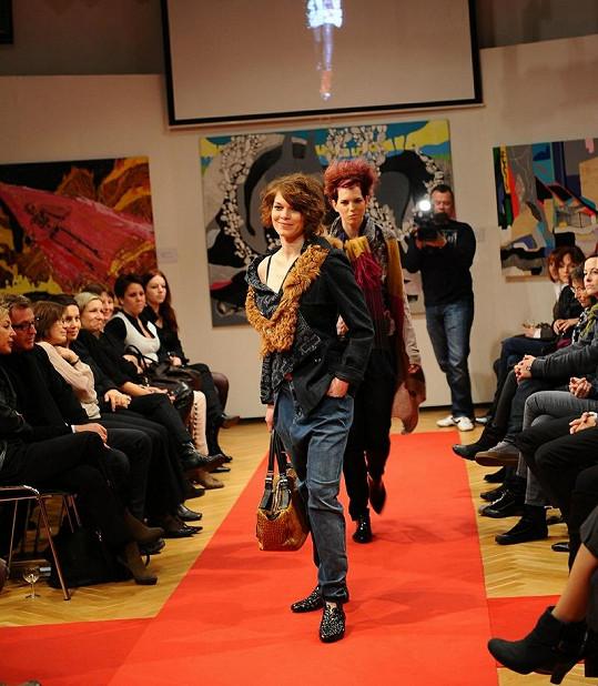 Publikum bylo z modelů nadšené.