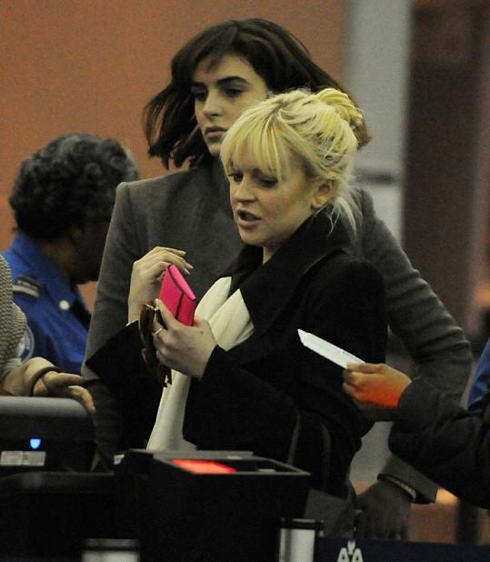 Lindsay Lohan se sestrou Ali.