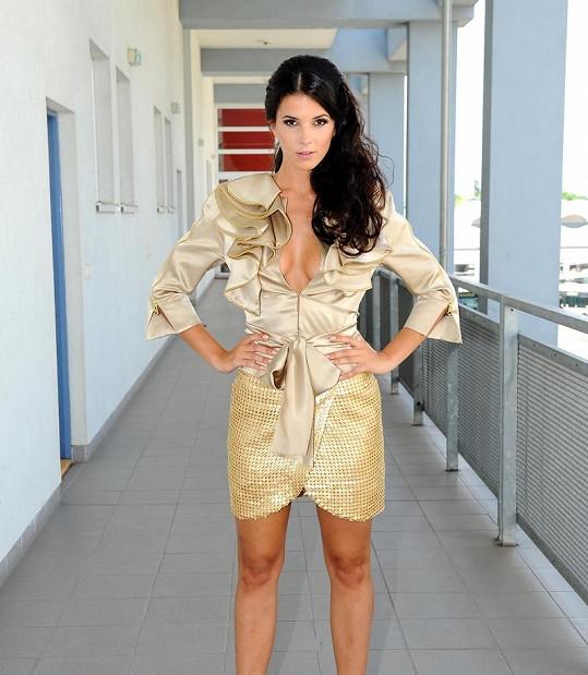 Krásná Soňa Skoncová se stala novou moderátorskou hvězdou Fashion TV.