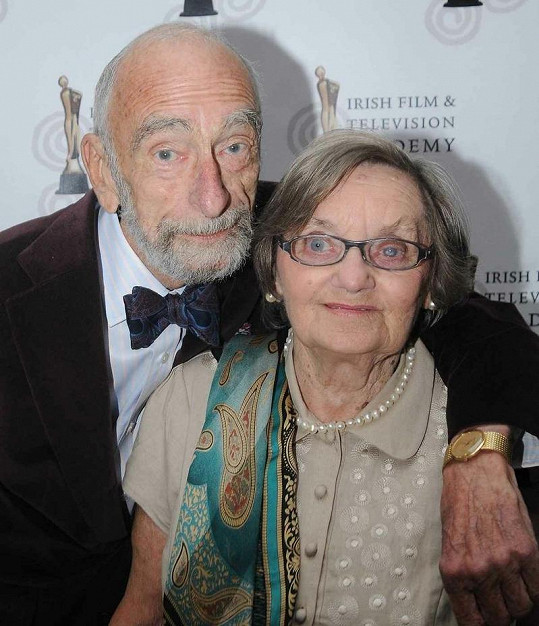 David Kelly s manželkou Laurie Morton.