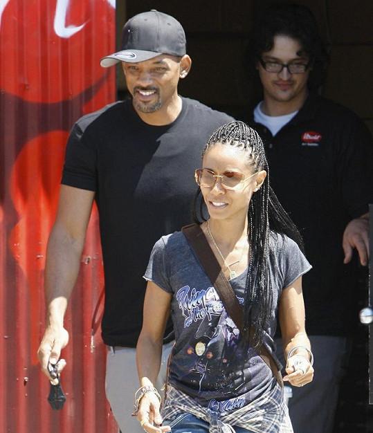 Will Smith a Jada Pinkett společně vyrážejí na nákupy.