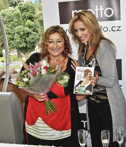Mezi hosty nechyběla ani Kateřina Brožová, která se vrací k blond barvě vlasů.