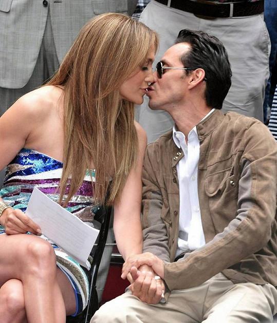 Takhle ještě nedávno vypadala láska mezi Jennifer Lopez a Marcem Anthonym.