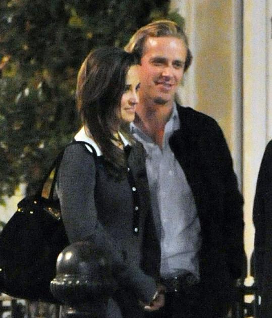 Pippa se s Tomem nevidí poprvé, minulý rok spolu byli na tenisovém zápase.