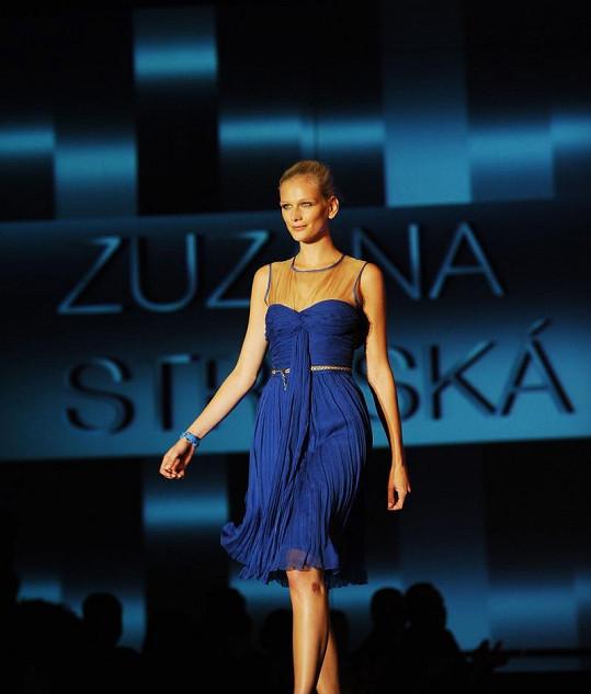 Zuzana Stráská nahradila v kampani Táňu Kuchařovou i Simonu Krainovou.