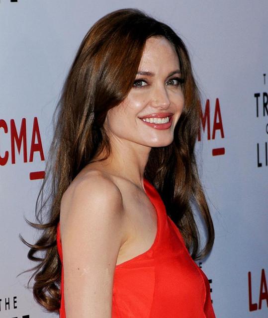 Thorntonova exmanželka Angelina Jolie.