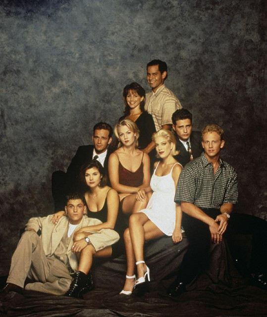 Luke jako Dylan McKay v seriálu Beverly Hills 902 10.