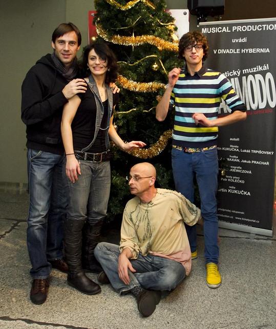 V muzikálu Quasimodo s kolegy