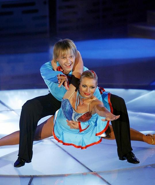 Lucie Borhyová zářila před pěti lety v taneční soutěži Bailando.