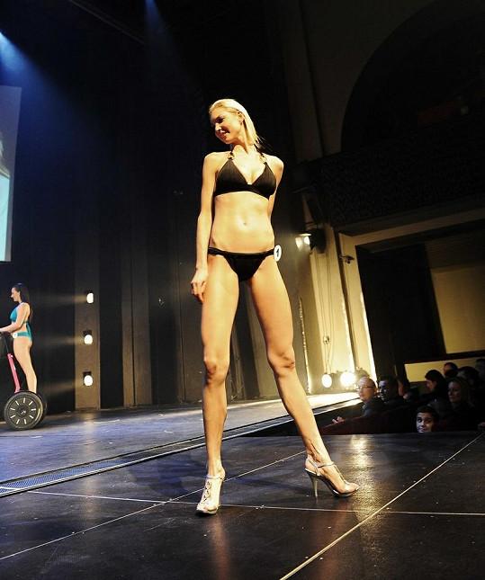 Vítězka Miss Golf Kateřina Částková má dokonalé tělo.