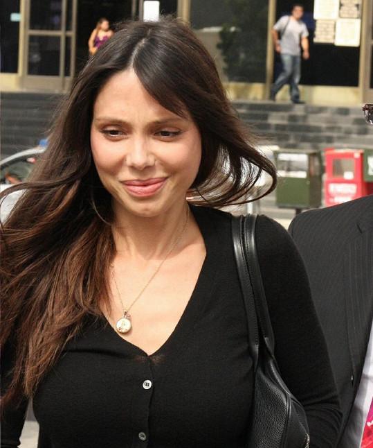 Melova bývalá přítelkyně Oksana Grigorieva.