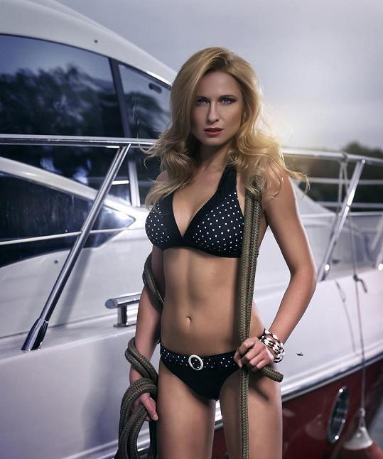 Romana Pavelková nafotila promo fotky k pořadu Mercedes-Benz Jachting.