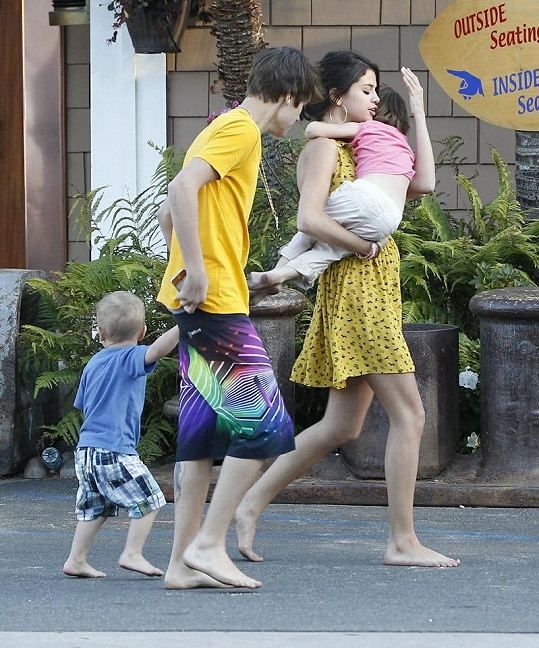 Slavný hollywoodský pár Justin Bieber a Selena Gomez.
