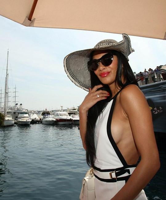 Nicole si v Monaku našla chvíli na plavbu jachtou.