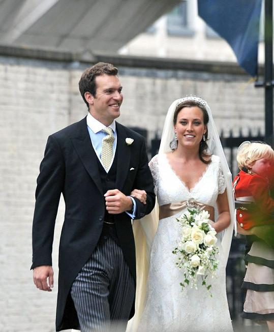 Nicholas van Cutsem se oženil v roce 2009. Mezi hosty na savtbě byl i princ William.