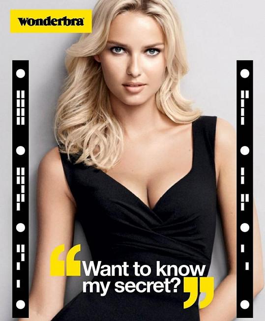 Chcete znát mé tajemství? - Tak zní nový reklamní slogan Wonderbry.