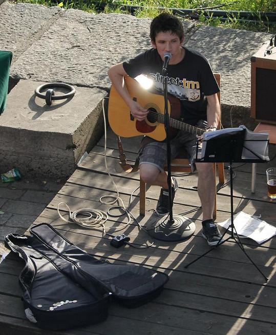 Martin Ševčík si zpěvem ale moc nevydělal.