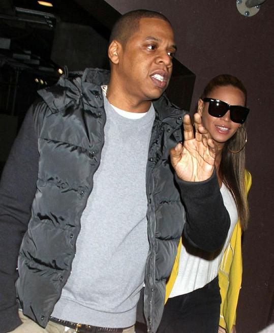 Jay-Z a Beyoncé poprvé společně mezi lidmi po narození dcery.