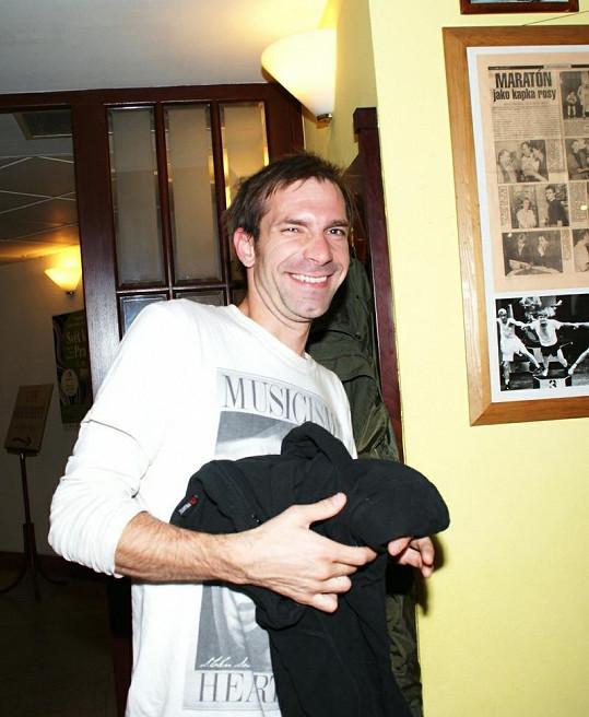 Ondrej Koval rozdával úsměvy.