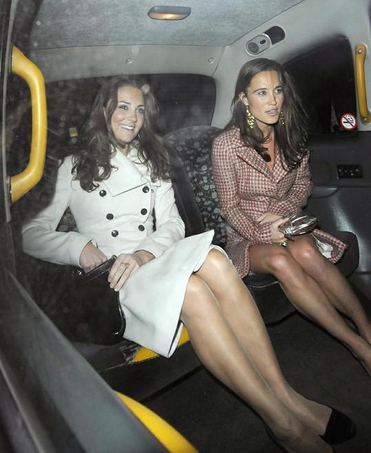 Vždy elegantní Catherine a Pippa.