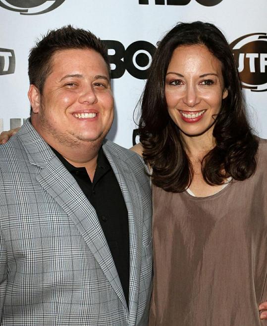 Chaz Bono s přítelkyní Jennifer.