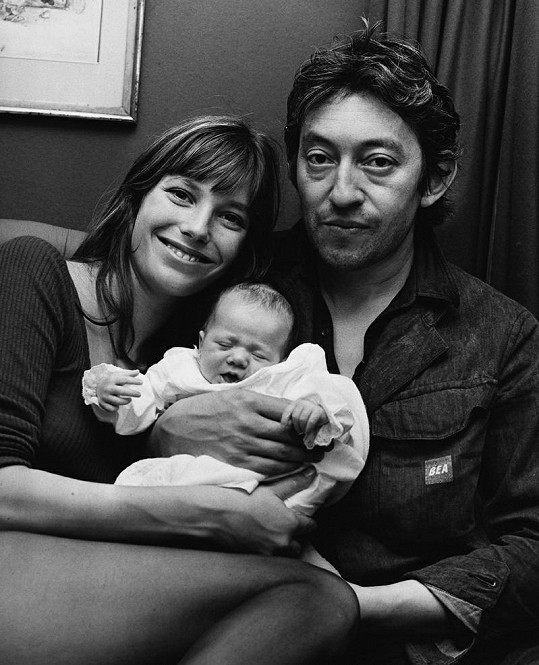 Jane, Serge a malá Charlotte.