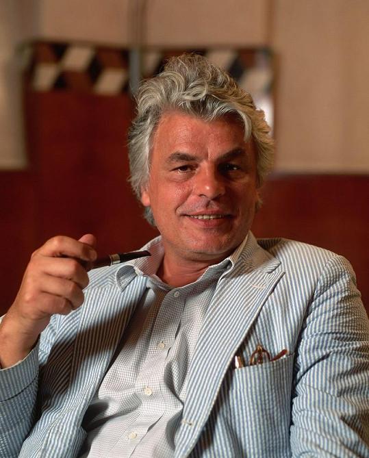 Italský herec na snímku z roku 1998 v Mnichově.