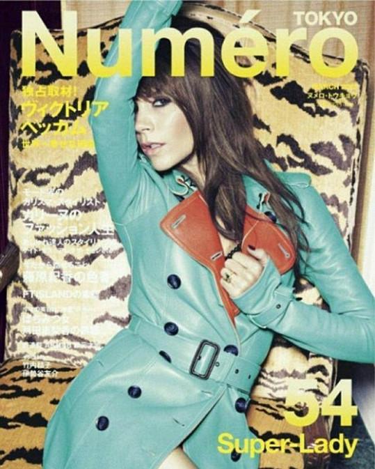 Victoria Beckham na obálce magazínu Numero.