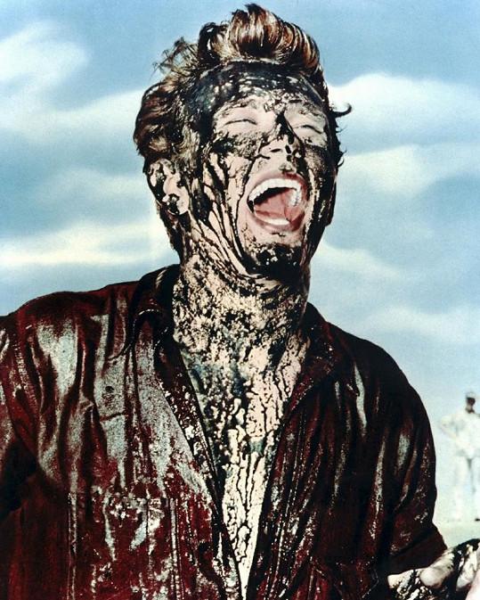 Momentka z posledního filmu Jamese Deana.