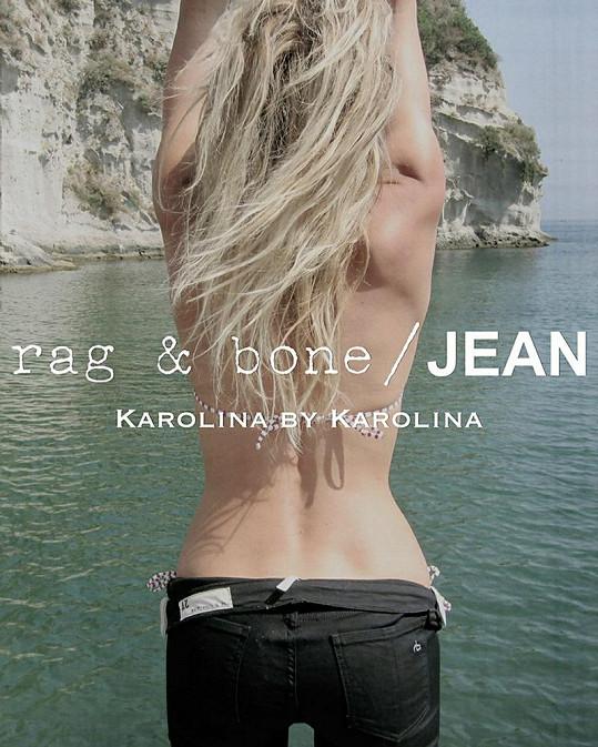 Karolína Kurková pro Rag & Bone.