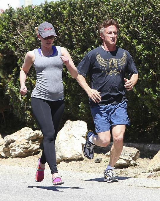 Scarlett Johansson a její expřítel Sean Penn.