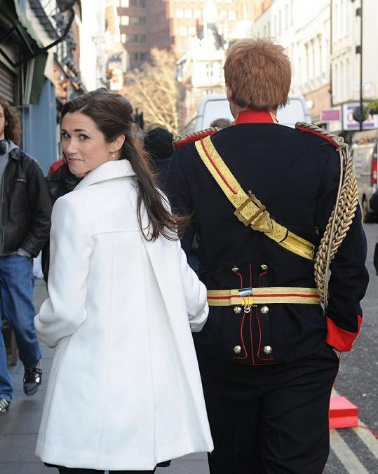 Dvojníci vzbudili v Londýně velké nadšení.