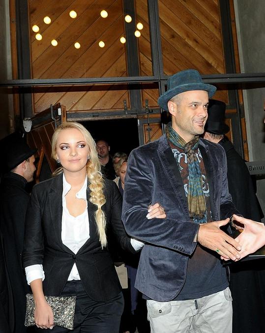 Jaro Slávik s Lucií Špakovou.
