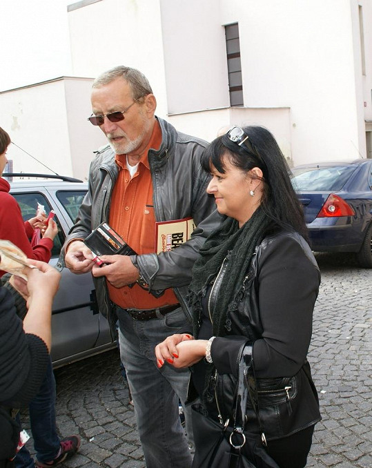 Ladislav Frej s Gábinou poctivě zaplatili vstupné.