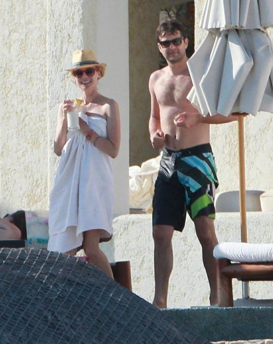 Diane a Joshua v Mexiku.
