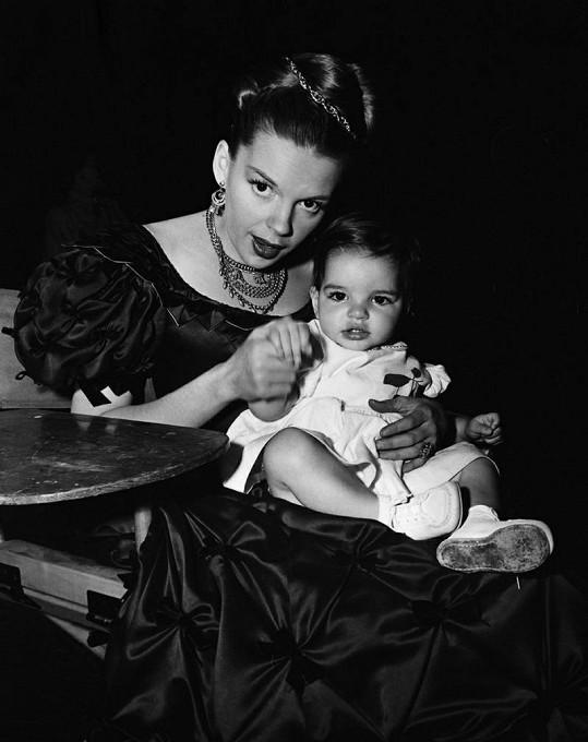 Judy s dcerou Lizou.