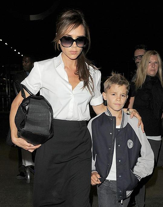 Z desetiletého Romea Beckhama bude jistě jednou pohledný muž.