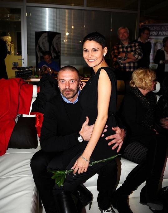 Vlaďka Erbová a Tomáš Řepka jsou s Renatou dobří přátelé.