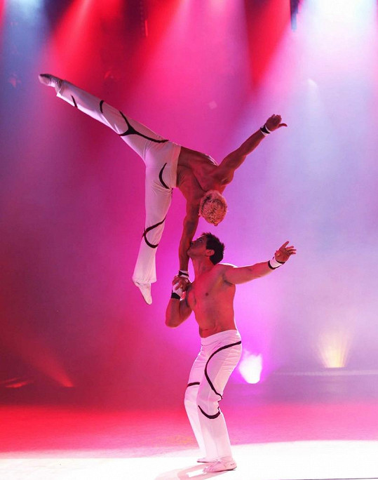 Akrobatický kousek.